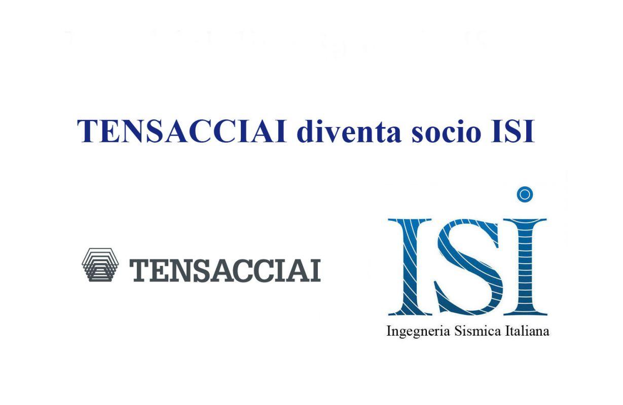 TENSACCIAI diventa socio ISI
