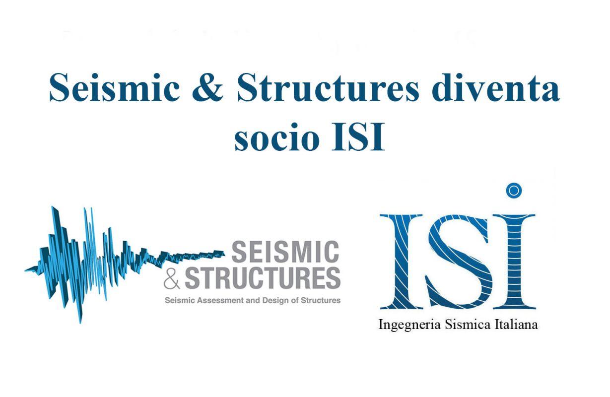 Seismic & Structures nuovo socio sostenitore ISI