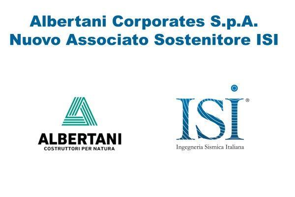 Albertani Corporates S.p.A. nuovo Associato Sostenitore ISI