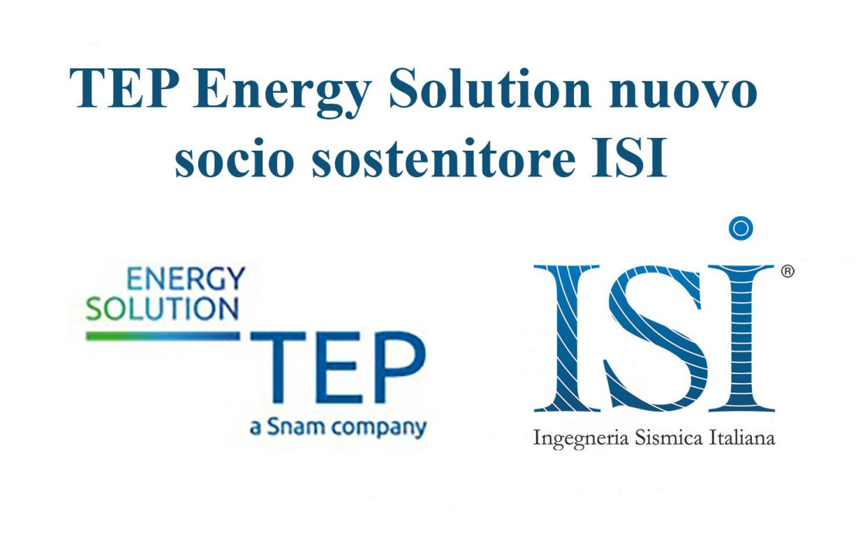 TEP Energy Solution nuovo socio sostenitore ISI