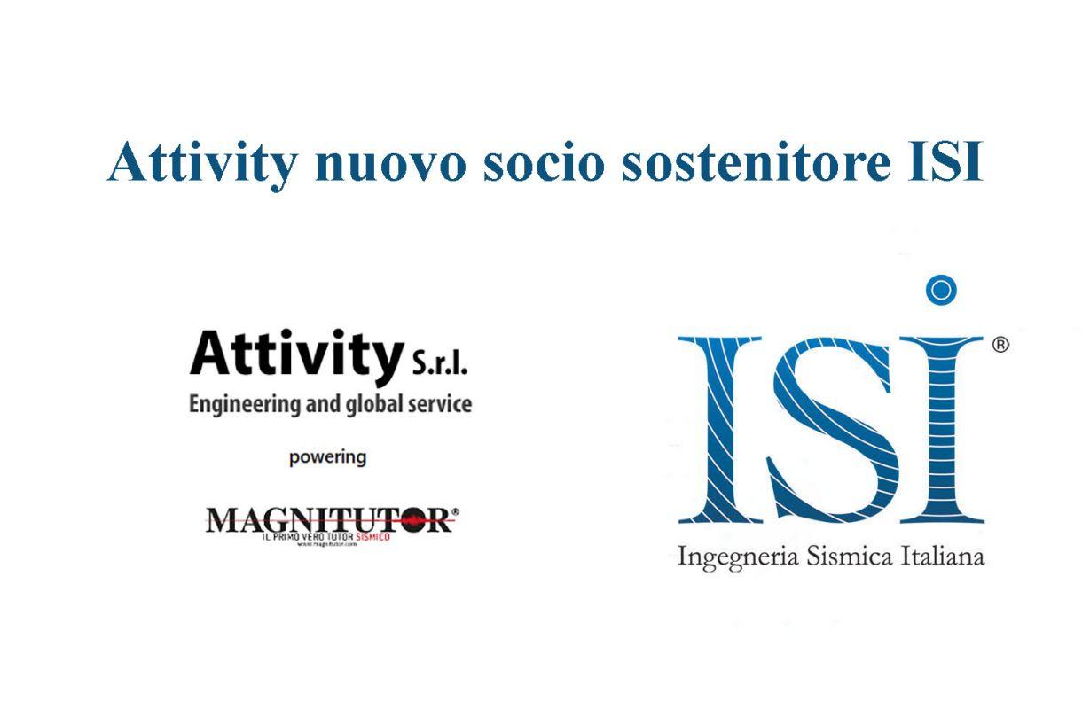 Attivity s.r.l. nuovo socio sostenitore ISI