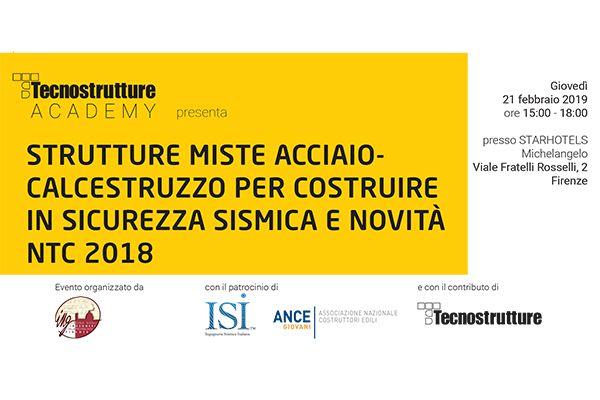 Strutture miste acciaio – calcestruzzo, sicurezza sismica e novità NTC 2018