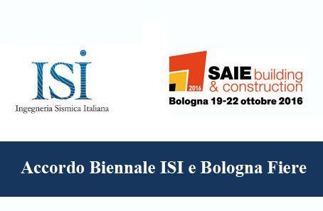 Accordo biennale ISI e Bologna Fiere S.p.a. per il SAIE