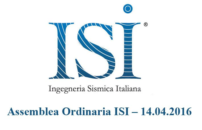 Assemblea Ordinaria ISI – 14.04.2016