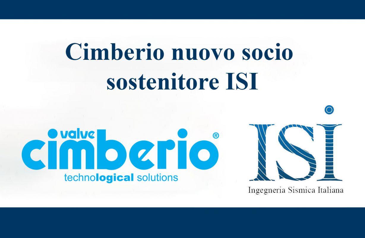 Cimberio nuovo socio sostenitore ISI