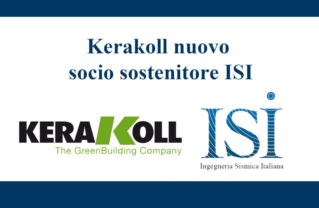 Kerakoll nuovo socio sostenitore ISI