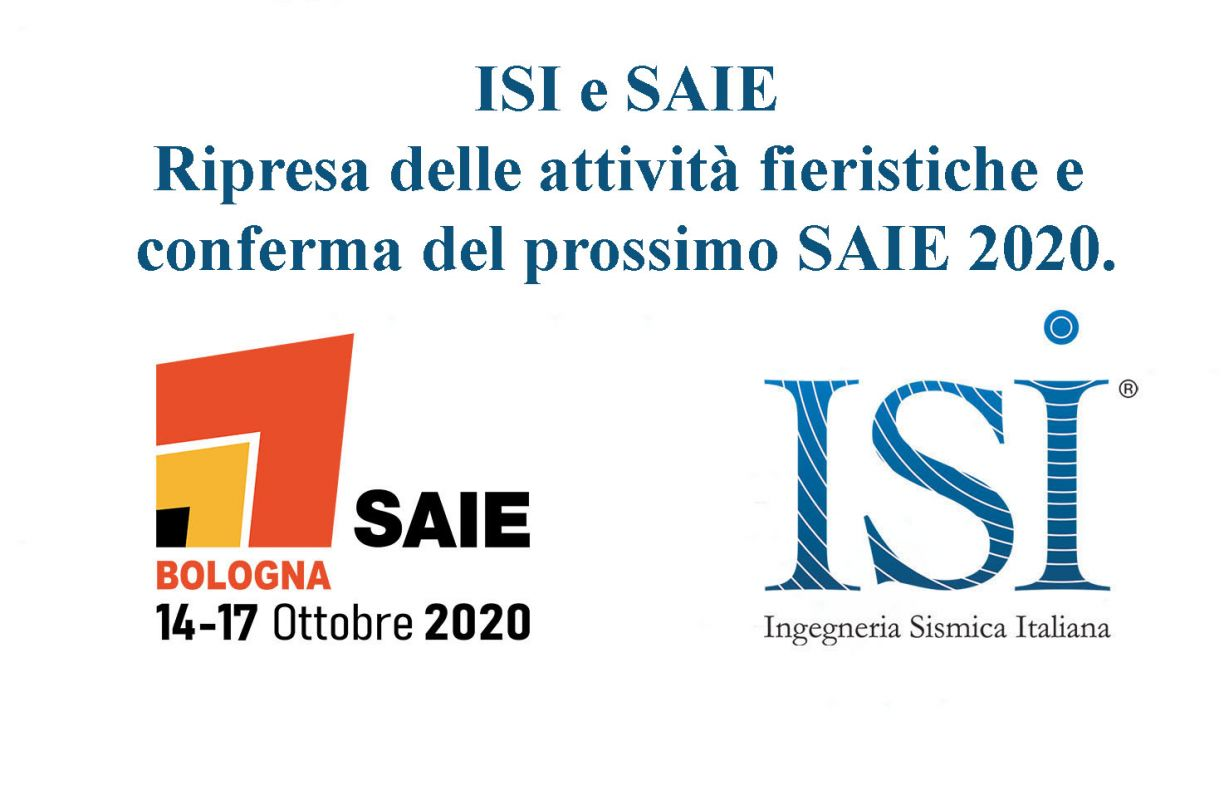 ISI al SAIE: Ripresa delle attività fieristiche e conferma del prossimo SAIE 2020.
