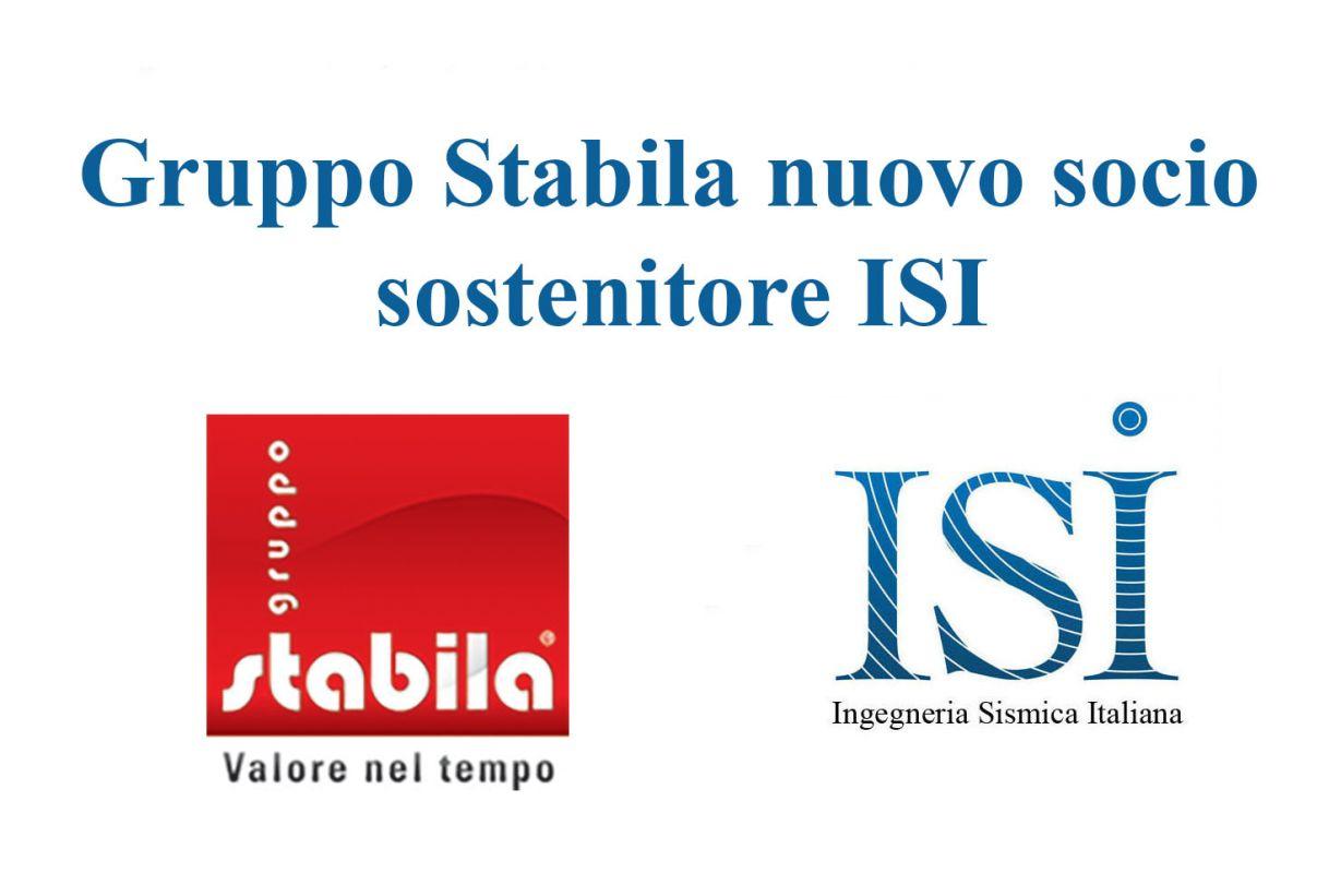 Gruppo Stabila nuovo socio sostenitore ISI