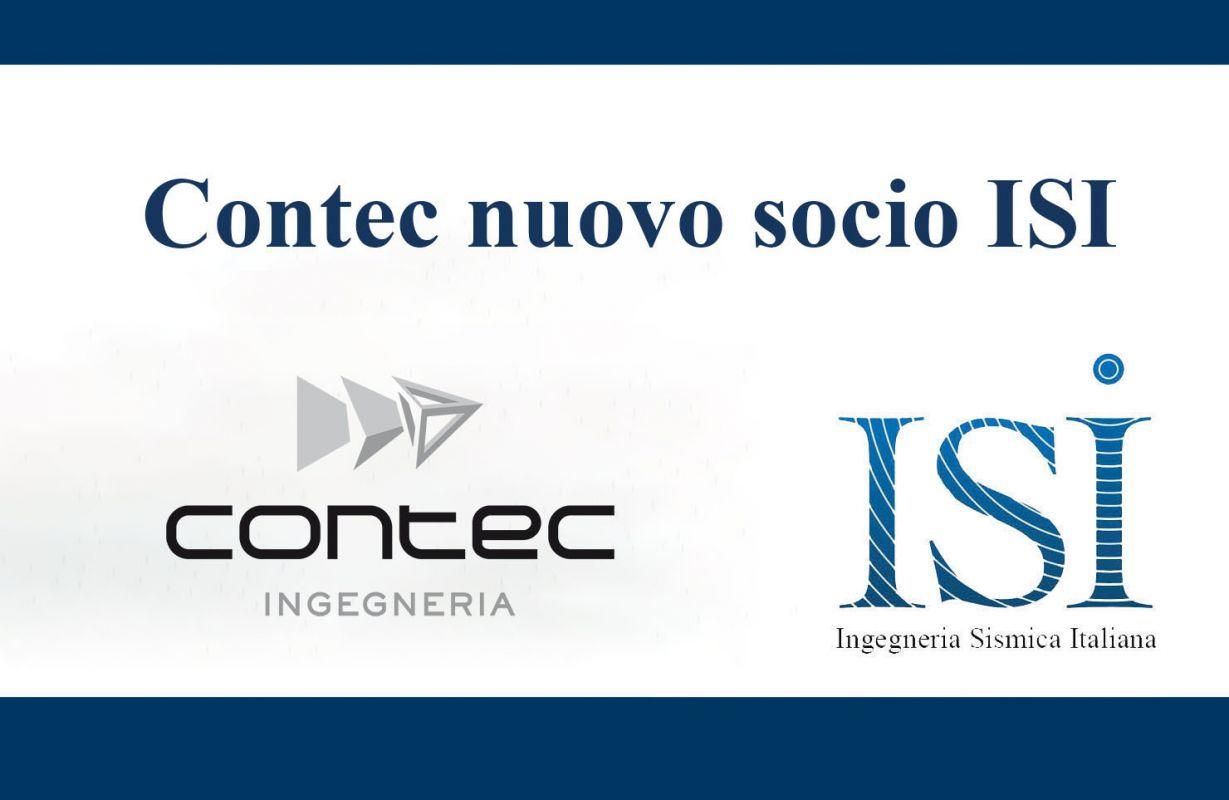 Contec Ingegneria nuovo socio ISI