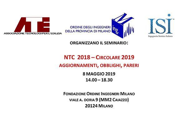NTC 2018 – Circolare 2019 Aggiornamenti, Obblighi, Pareri
