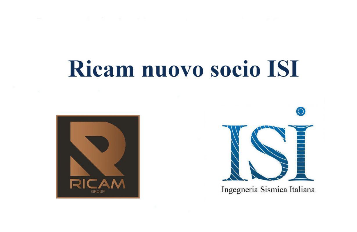 Ricam nuovo socio sostenitore ISI