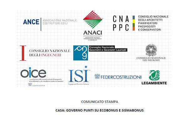 Comunicato Stampa - Casa: Governo Punti Su Ecobonus E Sismabonus