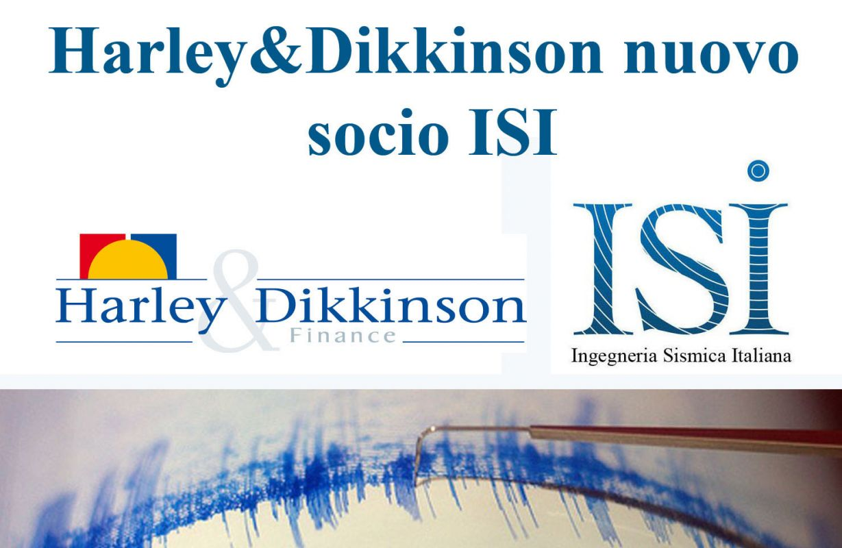 Harley&Dikkinson nuovo socio sostenitore ISI