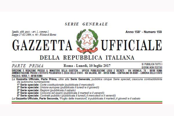 Decreto Legislativo n.106 del 16/06/2017. Disposizioni per il Regolamento (UE) n.305/2011. Condizioni armonizzate per la commercializzazione dei prodotti da costruzione.