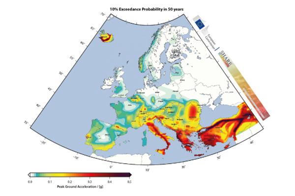 Percezione della pericolosità sismica in Italia