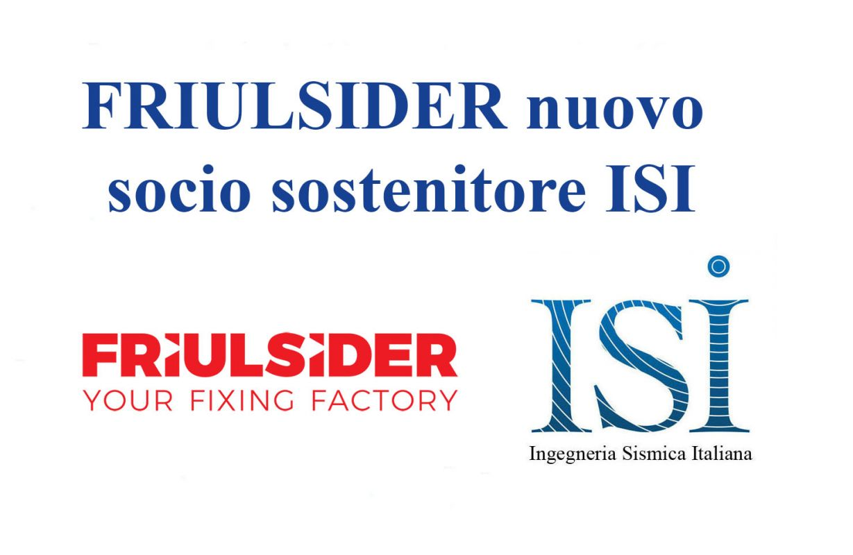 FRIULSIDER nuovo socio sostenitore ISI