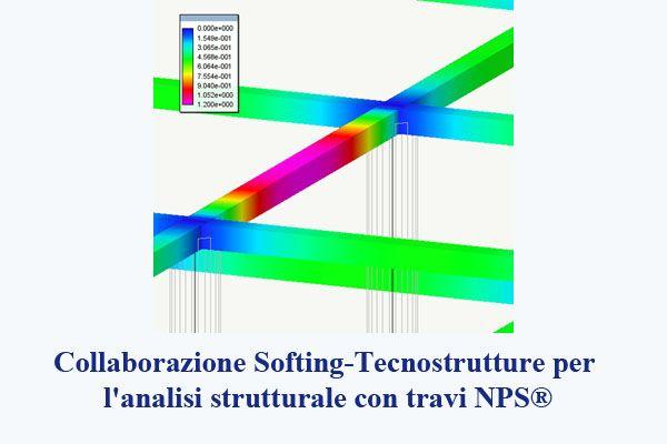 Collaborazione Softing-Tecnostrutture per l'analisi strutturale con travi NPS®