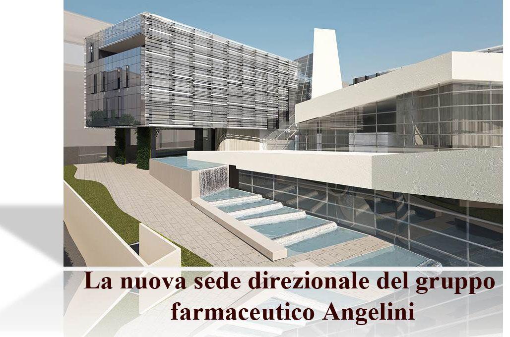 La nuova sede direzionale del gruppo farmaceutico Angelini