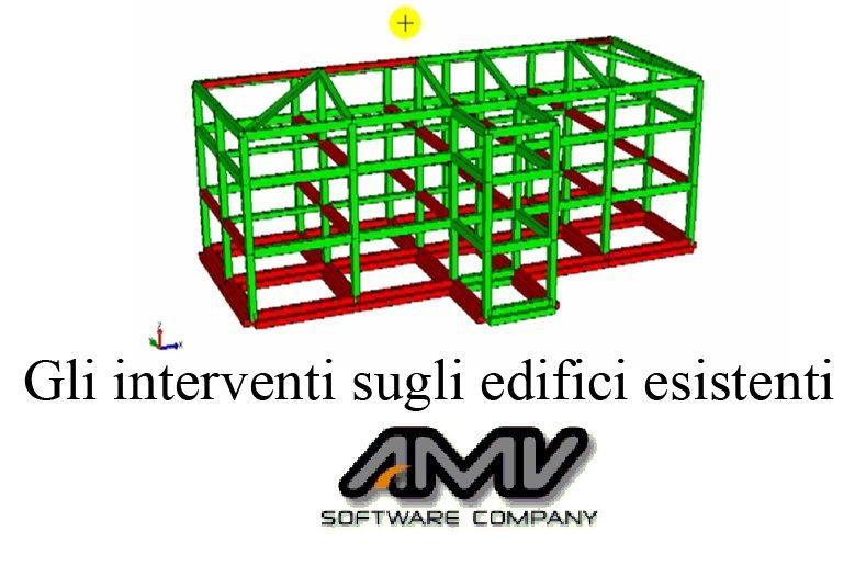 Gli interventi sugli edifici esistenti. Tecniche di calcolo per rinforzi strutturali su opere in cemento armato o muratura.