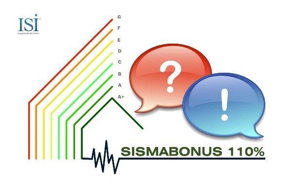Rubrica Detrazioni Fiscali: risposte ai quesiti ricorrenti relativi al SISMABONUS 110%