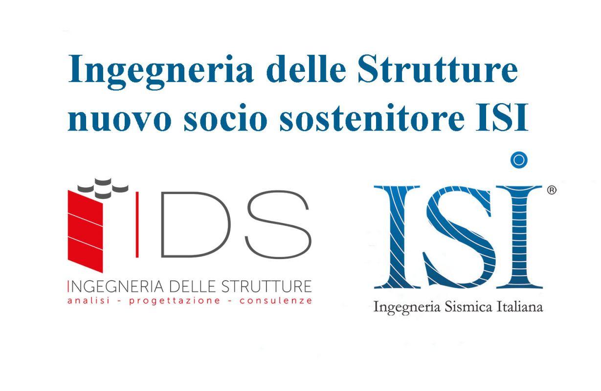 Ingegneria delle Strutture nuovo socio sostenitore ISI