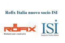 ROFIX Italia nuovo socio ISI