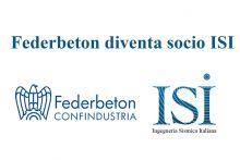 Federbeton nuovo socio sostenitore ISI