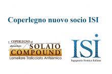 Coperlegno nuovo socio sostenitore ISI