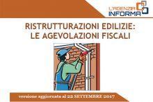Agevolazioni fiscali per le misure antisismiche. Aggiornamenti dell'Agenzia delle Entrate.