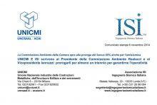 Emendamento per le detrazione per la sismica - Risposte concrete alle richieste UNICMI e ISI