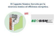 Il cappotto sismico: brevetto Ecosism per la combinazione di sicurezza sismica ed efficienza energetica.
