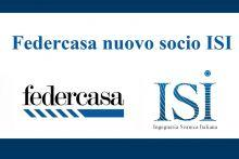 Federcasa nuovo socio ISI