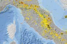 La nuova carta della sismicita' in Italia raccoglie i terremoti dal 2000 al 2012