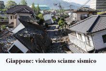 Violento sciame sismico nel sud del Giappone