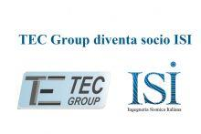 TEC Group nuovo socio ISI