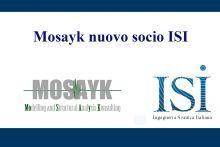 Mosayk nuovo socio ISI