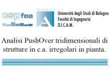 Analisi PushOver Tridimensionale di Strutture in c.a. irregolari in pianta