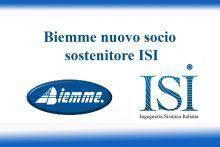 Biemme nuovo socio sostenitore ISI