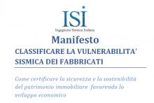 Manifesto ISI - Classificare la Vulnerabiltà Sismica dei Fabbricati